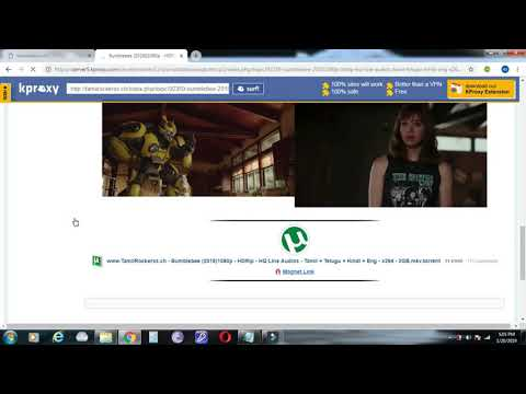 How to download a movie using magnet link (alternate method) |