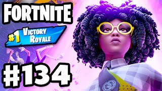 UFOs and Recon Scanner! #1 Victory Royale Duos! - Fortnite - Gameplay Part 134