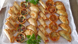 Empanadillas al horno: 6 recetas económicas, fáciles y rápidas  (SIN FREÍR)
