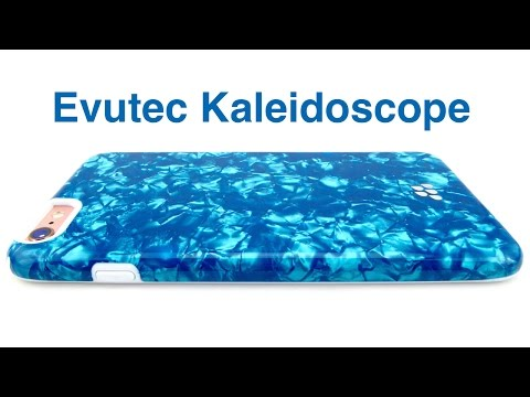 Sleek, Glittery, with Mil-Spec Protection: Evutec Kaleidoscope for iPhone 6s+