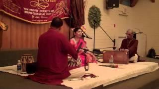 Saylee Talwalkar - Sangeetha St.louis Concert -  May 12 , 2012