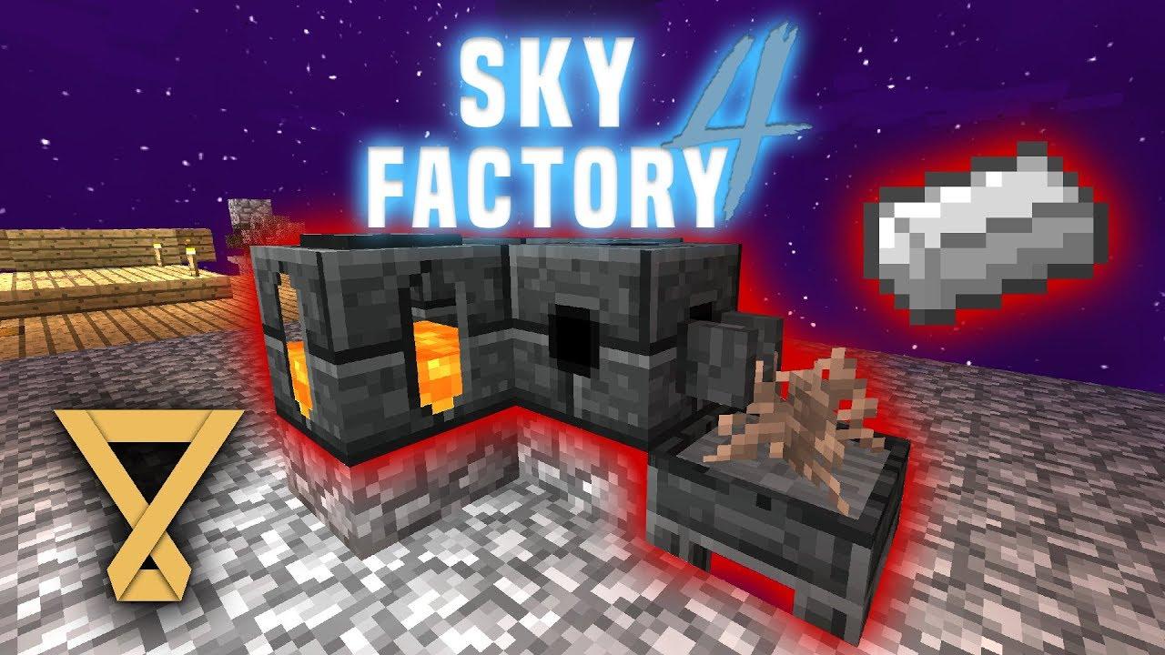Iron Sapling aus Smeltery - SkyFactory 4 #4 [Let's Play] [Deutsch] [German]