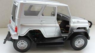 Ремонт модели автомобиля УАЗ ч. 1(Ремонт масштабной модели автомобиля УАЗ (часть 1). Эту машинку Сами с усами - своими руками приобрел как всег..., 2016-03-16T09:43:58.000Z)