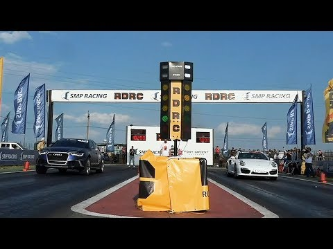 Что сможет RS6 против Porsche 1200 лс?! Снова попали на Chaser и GT-R