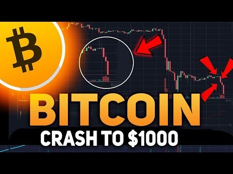 BITCOIN PRICE COLLAPSE!! Bitcoin To Crash To $1,000 Then $50,000