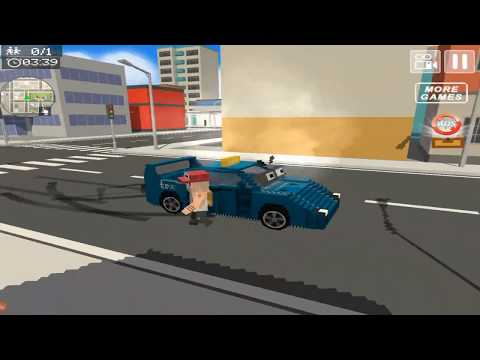 Blocky Taxi Driver City Rush | HD Gameplay Video