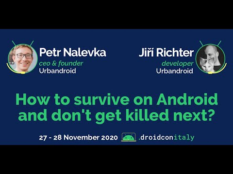 Petr Nalevka & Jiří Richter, Urbandroid: How to survive on Android and don't get killed