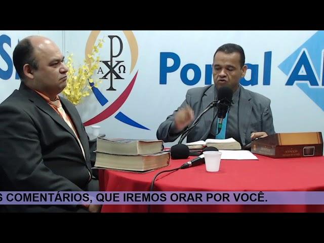 Programa - NO CAMINHO DE EMAÚS - Ronaclesio e Dc. João Veloso - 27/10/20