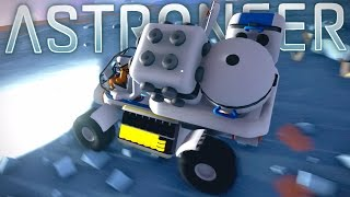 Astroneer - Building the Ultimate Space Vehicle & Planet Exploration - Astroneer Pre-Alpha Gameplay