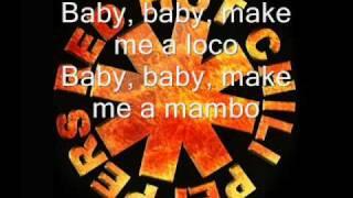 Red Hot Chili Peppers havana affair    lyrics