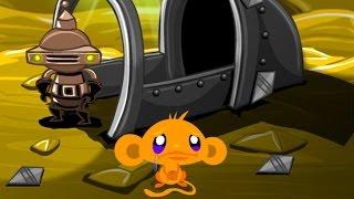 Счастливая обезьянка: Побег с планеты (Monkey Go Happy: Planet Escape) // Прохождение