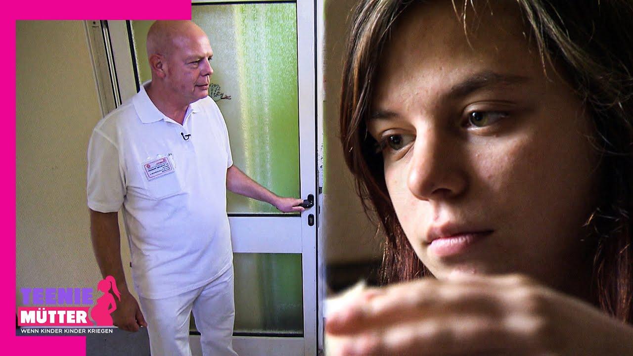 Denise hat Angst vorm weißen Mann 👨⚕️🩺😱   Teenie-Mütter