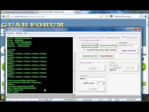 Nokia reading LBF Hash File using free Infinity Best software NOKIA V1.51