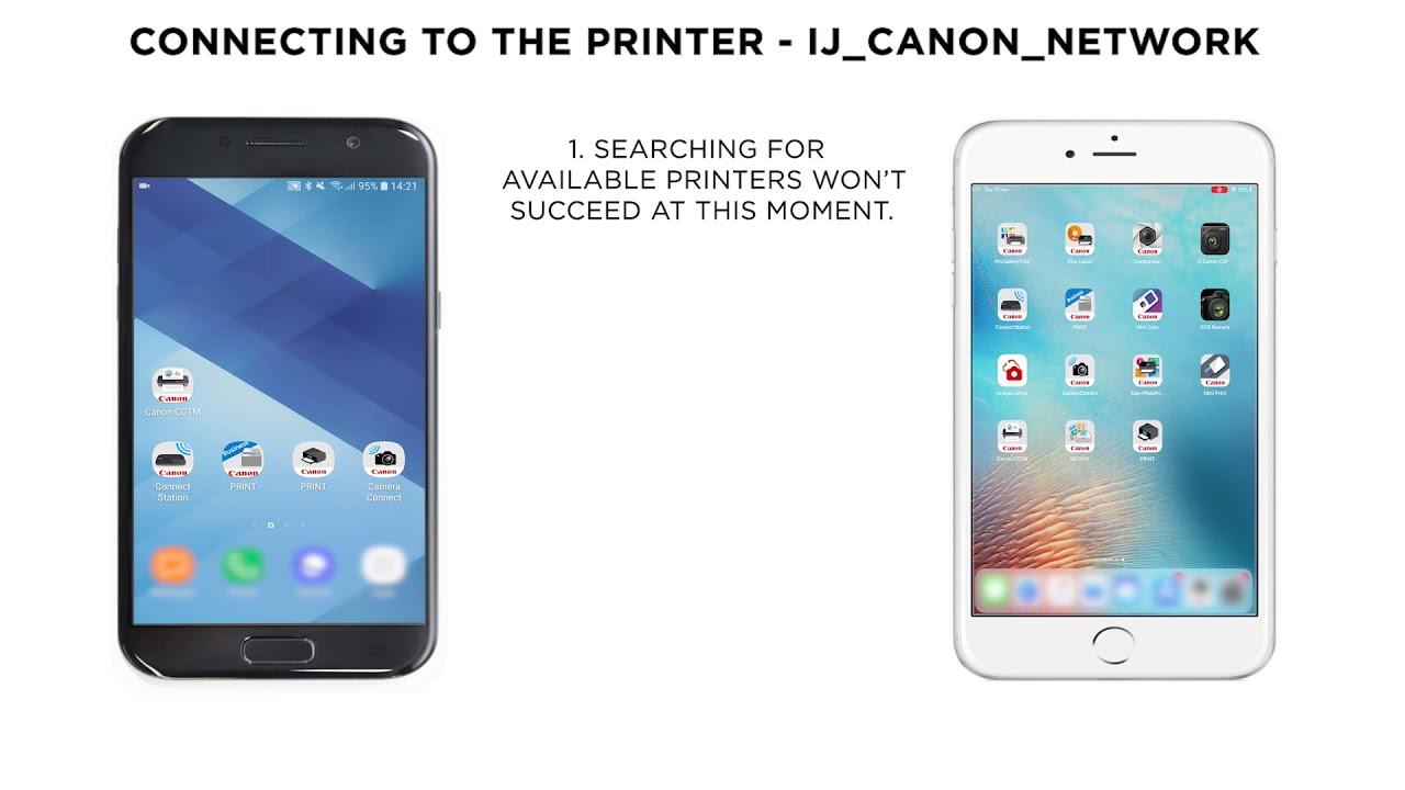 PIXMA MG20 Series MG20 or MG20 Wi Fi Setup using Canon PRINT  InkJet/SELPHY App