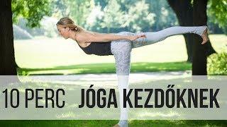 10 perces otthoni jóga teljesen kezdőknek | Jóga Életmód