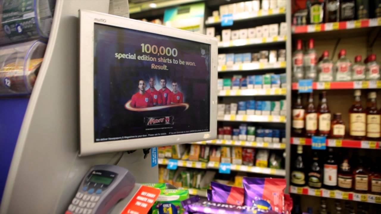 Primesight Digital Point Of Sale Martin Mccolls Till