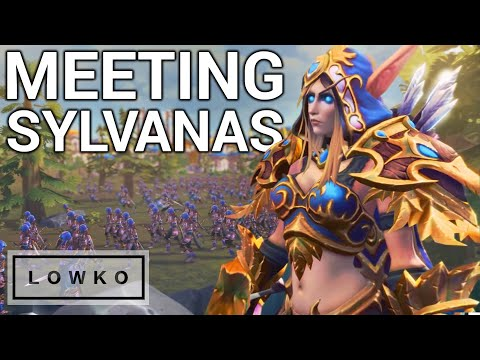 Warcraft 3: Reforged Campaign - MEET SYLVANAS WINDRUNNER! (Undead Campaign)