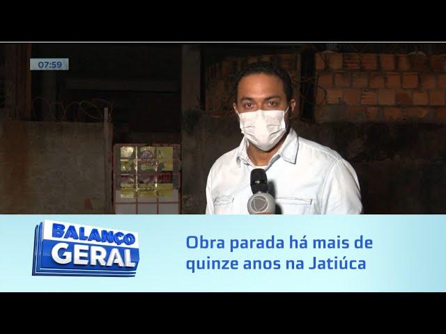 Abandono na Jatiúca: Obra parada há mais de quinze anos vira criadouro de mosquitos