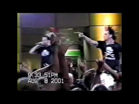 Good Charlotte Live At The Mall 2001 era