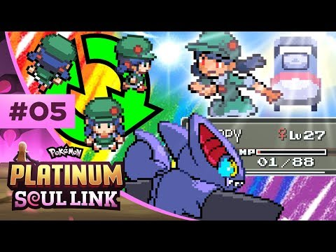 Pokemon Platinum Soul Link - EP05 | THE SPINNER OF DOOM!