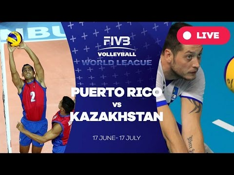 Puerto Rico v Kazakhstan - Group 3: 2016 FIVB Volleyball World League
