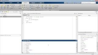 Writing a MATLAB Program