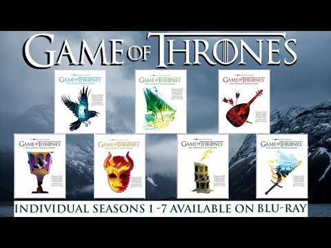 Game Of Thrones Limited Edition Robert Ball Artwork Blu-ray Season Sets