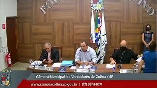 Câmara Municipal de Colina - 3ª Sessão Extraordinária 26/01/2021