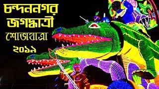 Jagadhatri Procession  Chandannagar 2019 ll জগদ্ধাত্রী শোভাযাত্রা চন্দননগর 2019