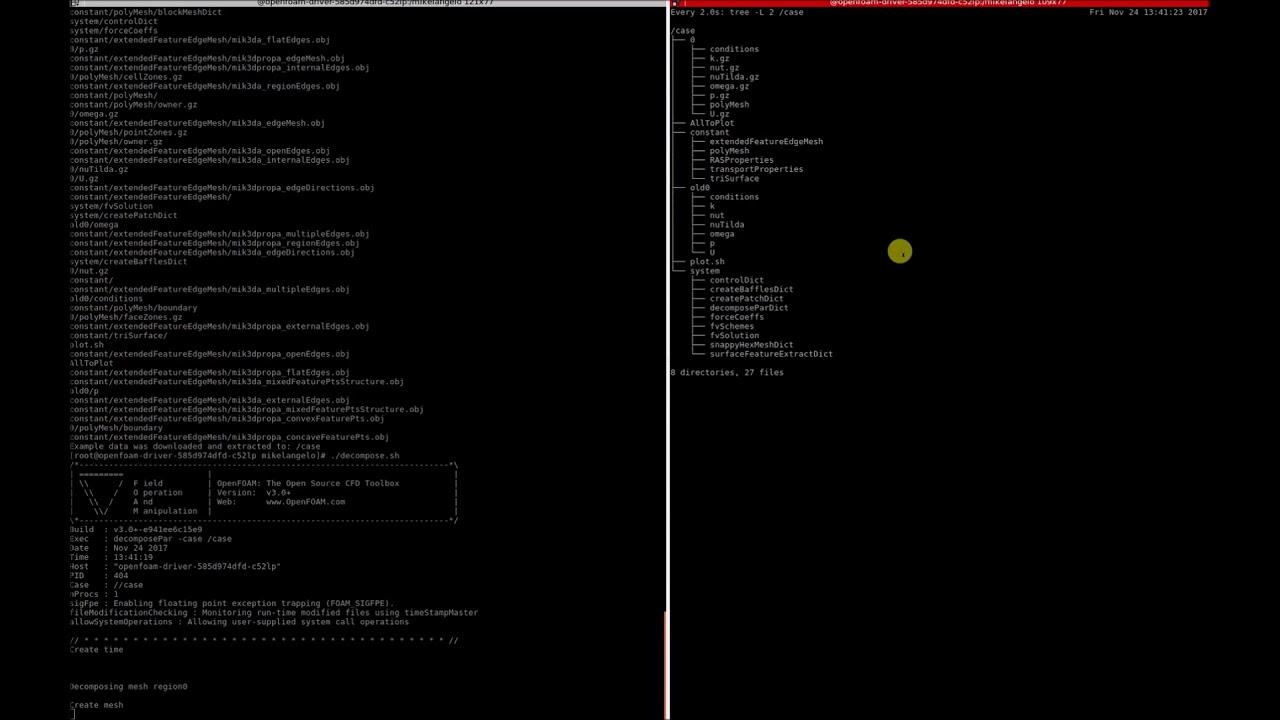 OpenFOAM on Kubernetes using OSv Unikernels (TURN ON SUBTITLES)