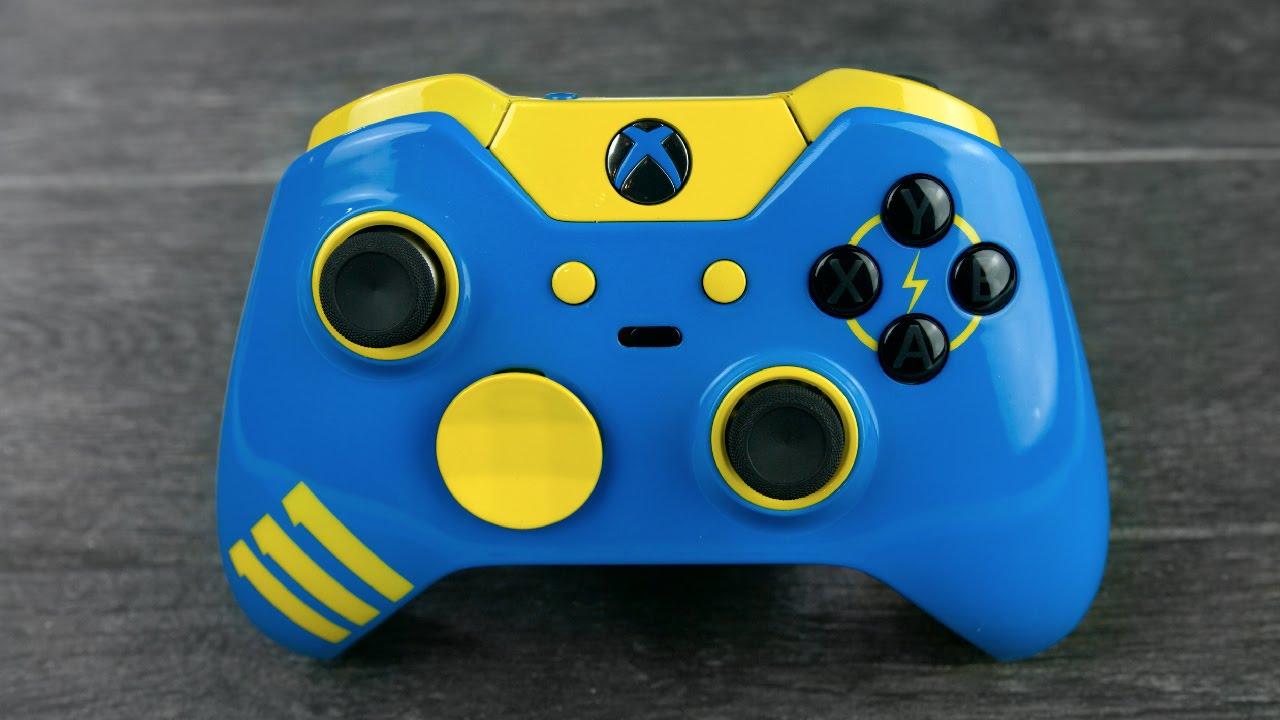 Custom Fallout 4 Xbox One Elite Controller!