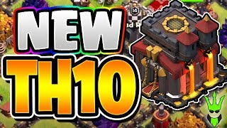 STARTING A *NEW* TH10!! - 2018 TH10 Upgrade Tal...