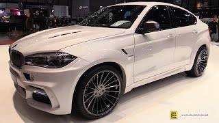 2015 BMW X6 M50d by Hamann - Exterior and Interior Walkaround - 2015 Geneva Motor Show