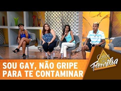 Casos de Família (04/03/15) - Sou gay, não gripe para te contaminar! - Completo