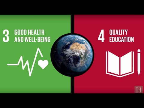 UN Global Goals: Healthy Children, Better Education