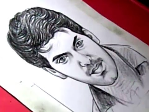 How to Draw Tamil Film Actor ARYA Drawing for Kids - YouTube