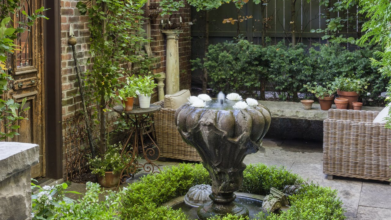 Exterior Design Tour A Stunning Secret Garden In The City Youtube