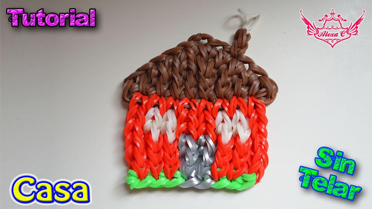 62a018eabdf7 ♥ Tutorial Fácil: Casa de gomitas (sin telar) ♥