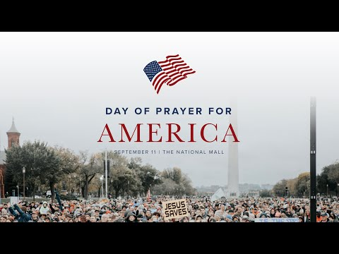 Day of Prayer for America - The National Mall - Washington, D.C. - Sean Feucht