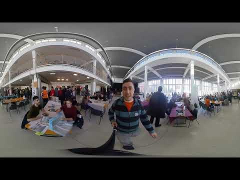 Vlog [123] - Play on board 2019 virtual walk (360 video)