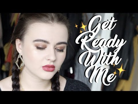 GET READY WITH ME | Urban Decay Aphrodisiac Palette