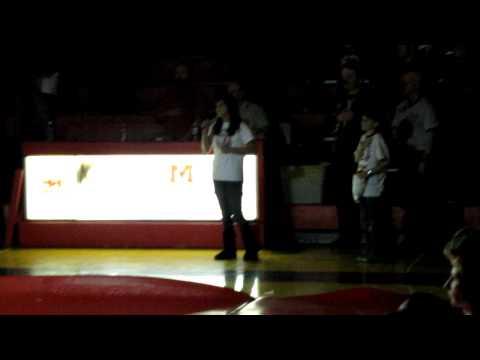 Emma Cooper National Anthem