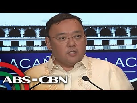 WATCH: Palace holds press briefing
