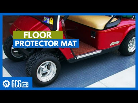 Golf Cart Floor Protector Mat How To Protect Your Garage