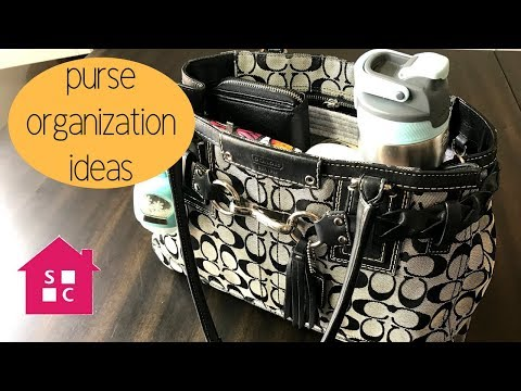 Purse Organization Ideas - What's in My Bag {2018}