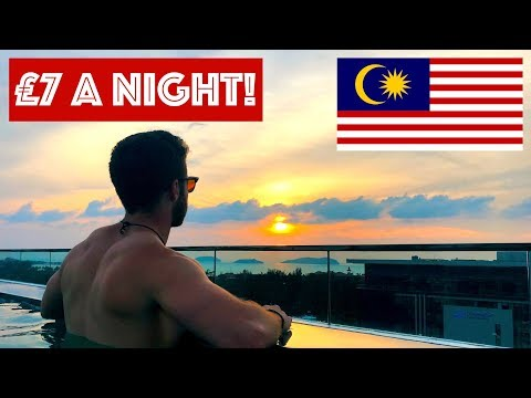 £7 INFINITY POOL APARTMENT IN MALAYSIA
