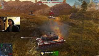 WoT Blitz - Танк легкого фарма. Три боя на Superpershing - World of Tanks Blitz (WoTB)