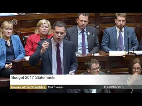 Pearse Doherty – Budget 2017, full speech