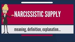 What is NARCISSISTIC SUPPLY? What does NARCISSISTIC SUPPLY mean? NARCISSISTIC SUPPLY meaning