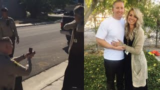 Cop Proposes to Girlfriend Who Thought She Was Pulled Over For a DUI